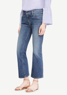 Ann Taylor Flare Crop Jeans