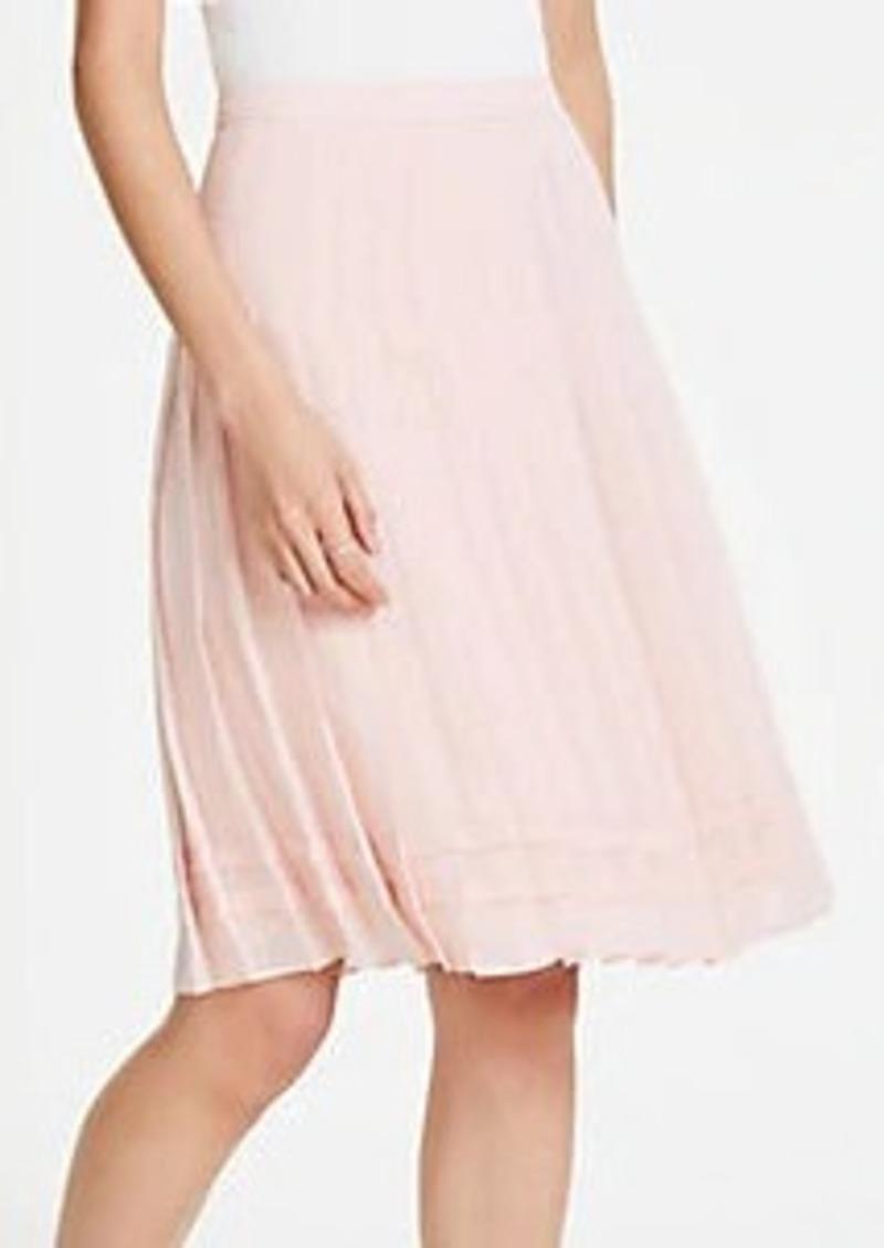 Ann Taylor Flare Skirt