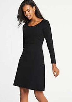 Ann Taylor Flare Sweater Dress