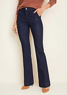Ann Taylor Flare Trouser Jeans in Classic Rinse Wash