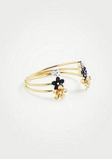 Ann Taylor Floral Bangle Set
