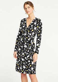 af4ff5d3a9aa Ann Taylor Floral Matte Jersey Wrap Dress