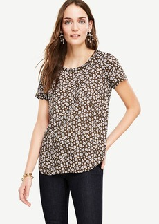 Floral Piped Tee