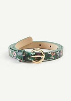 Ann Taylor Floral Skinny Belt