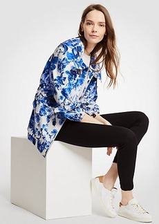 Ann Taylor Floral Toile Anorak Jacket