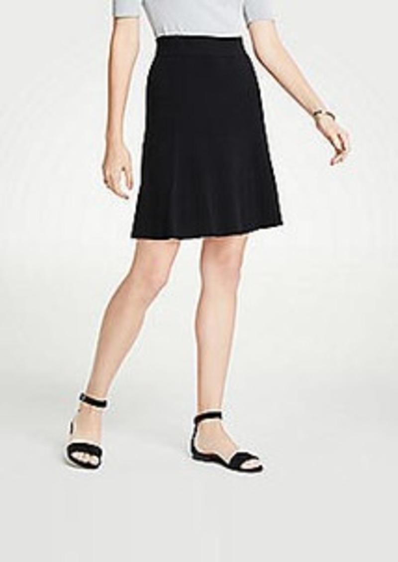 Ann Taylor Flounce Sweater Skirt
