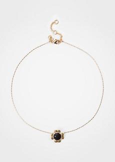 Ann Taylor Flower Pendant Necklace