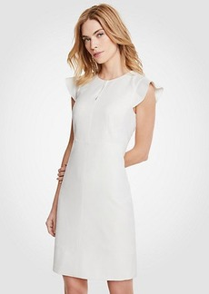 Ann Taylor Flutter Sheath Dress