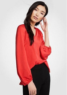 Ann Taylor Full Sleeve Blouse