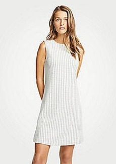 Ann Taylor Geo Jacquard Shift Dress