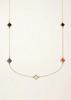 Ann Taylor Geo Station Necklace
