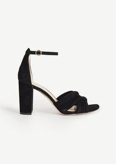 Gillian Suede Block Heels