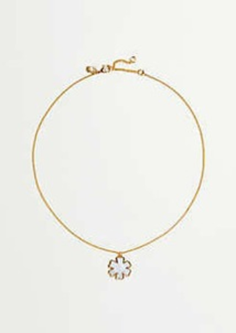 Ann Taylor Gingko Flower Delicate Necklace