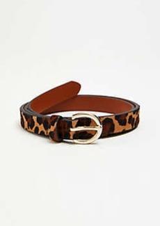 Ann Taylor Haircalf Trouser Belt