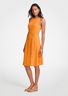 Ann Taylor Halter Flare Dress
