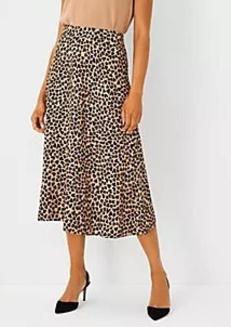 Ann Taylor Heart Full Midi Skirt