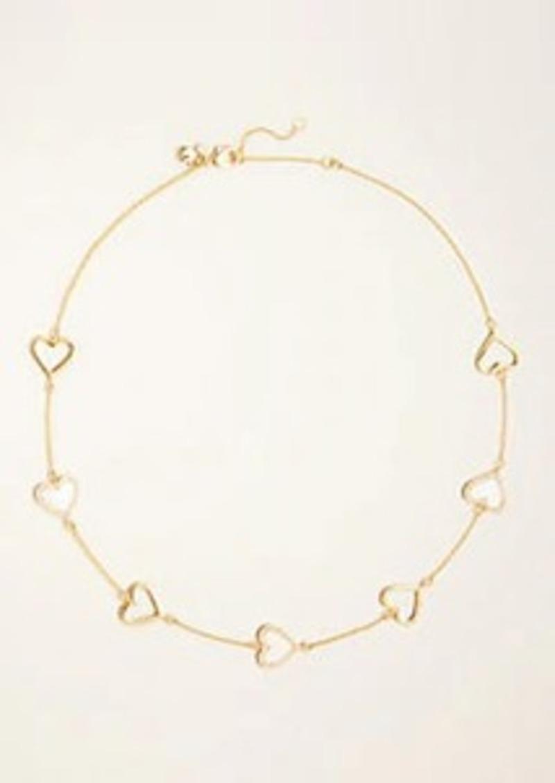 Ann Taylor Heart Necklace