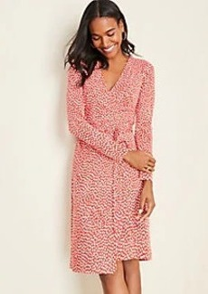 Ann Taylor Heart Wrap Dress