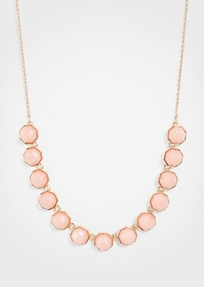 Ann Taylor Hexagon Stone Slider Necklace