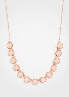 Ann Taylor Hexagon Stone Slider Necklace