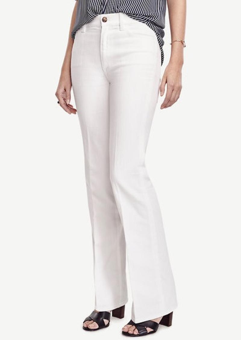 Ann Taylor High Waisted Flare Jeans