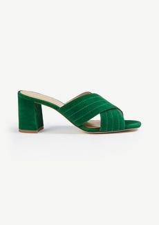 Honor Suede Heeled Sandals
