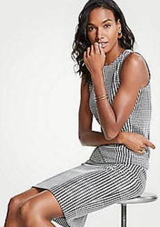 Ann Taylor Houndstooth Pencil Skirt