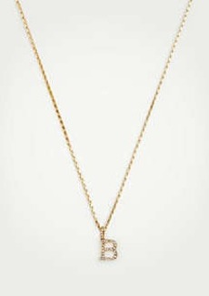 Ann Taylor Initial Necklace