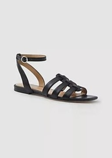 Ann Taylor Isa Leather Gladiator Sandals