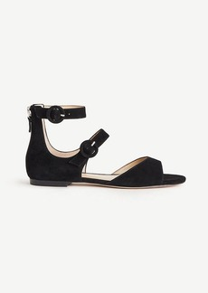 Ivette Suede Strappy Sandals