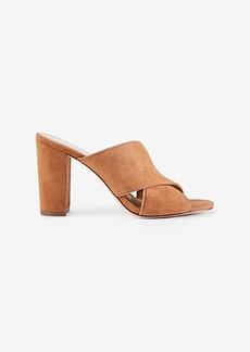 Jeanette Suede Heeled Sandals