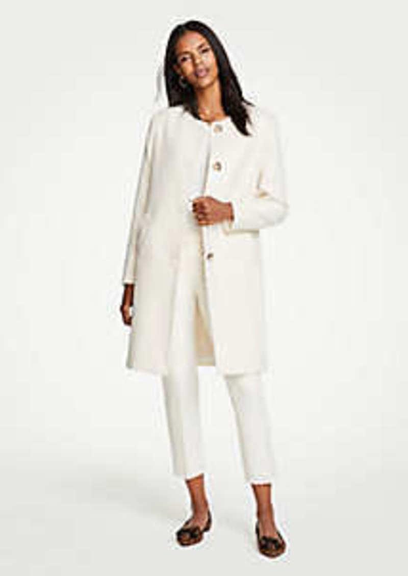 Ann Taylor Jewel Neck Coat