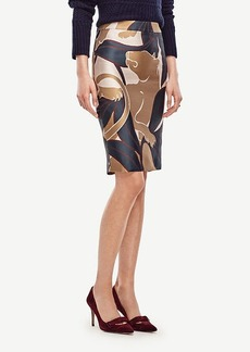 Ann Taylor Jungle Cat Pencil Skirt