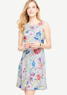Jungle Floral Flare Dress