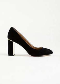 Ann Taylor Kaia Suede Block Heels