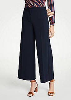 Ann Taylor Knit Wide Leg Crop Pants