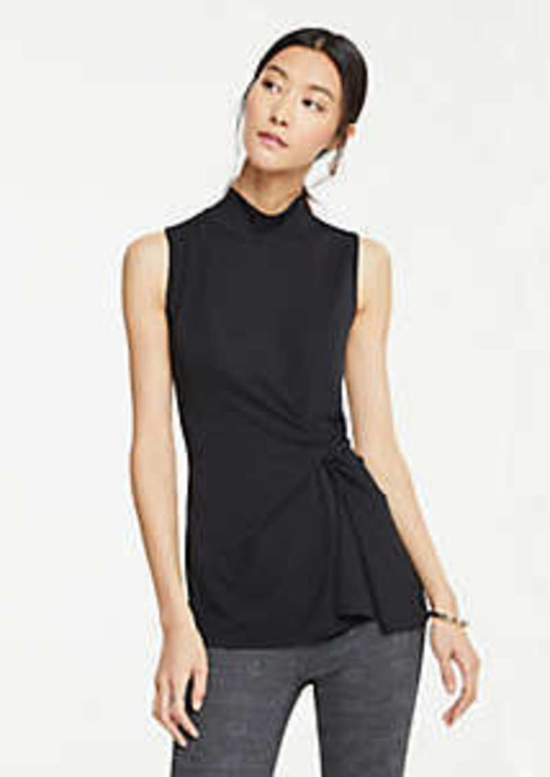 Ann Taylor Knot Front Shell