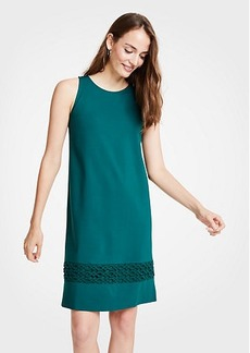 Ann Taylor Lace Hem Tank Dress