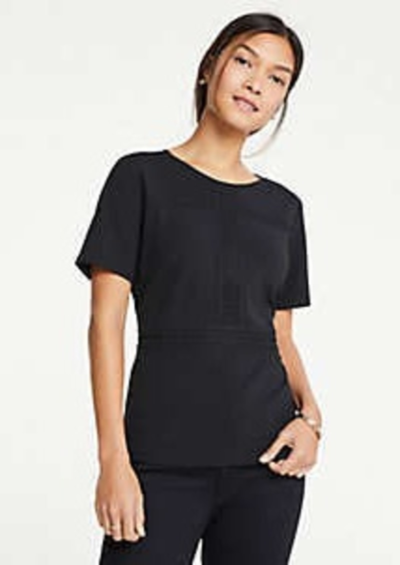 Ann Taylor Lace Inset Top