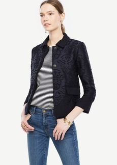 Ann Taylor Lace Overlay Jacket