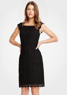 Ann Taylor Lace Sheath Dress