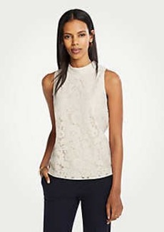 Ann Taylor Lace Shell