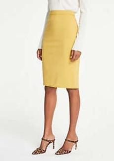 Ann Taylor Lace Trim Pencil Skirt