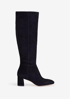Larkin Suede Heeled Boots