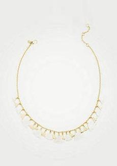Ann Taylor Leaf Necklace