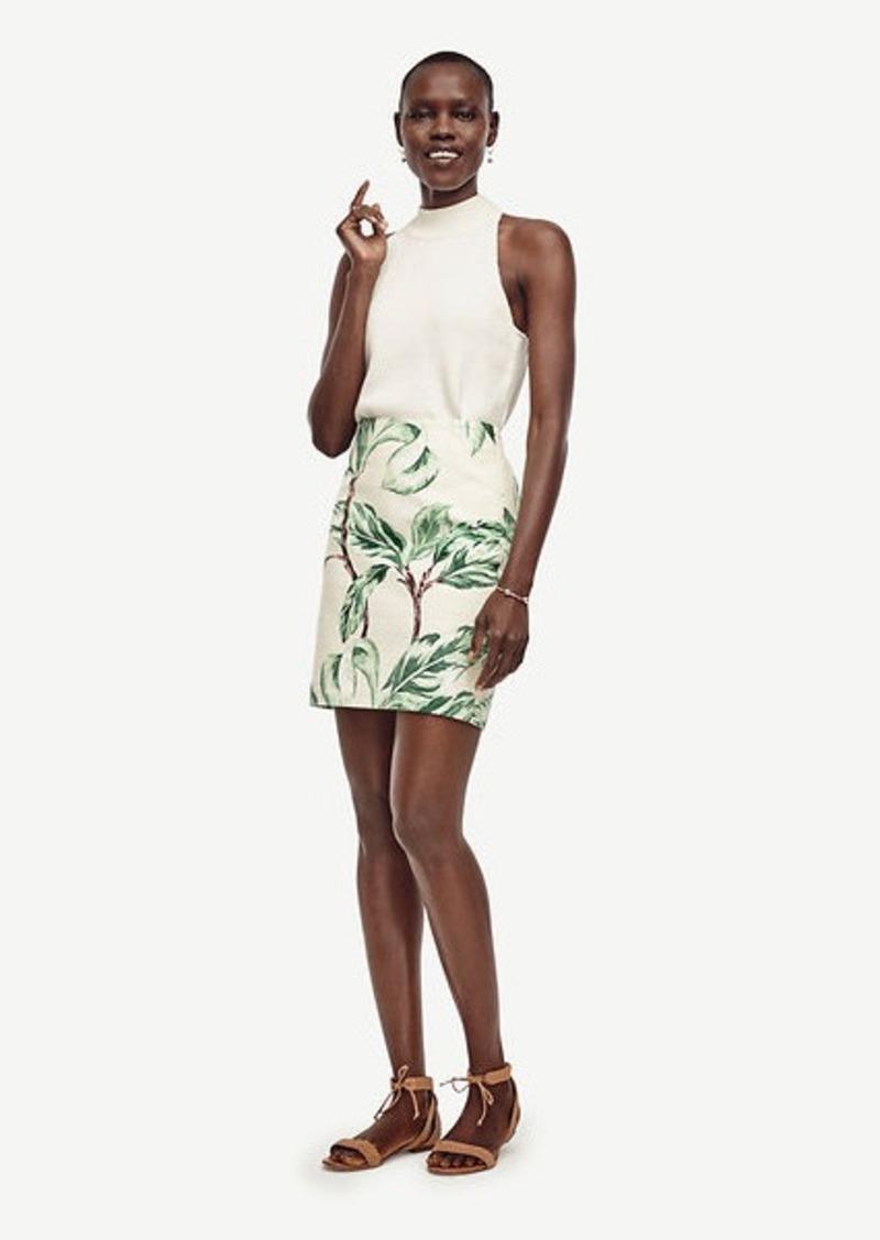 Ann Taylor Leafy Skirt