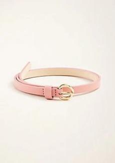 Ann Taylor Leather Skinny Belt