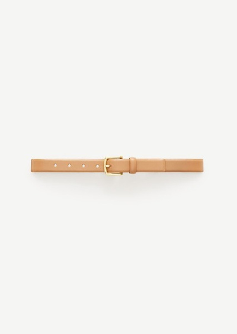 Ann Taylor Leather Trouser Belt