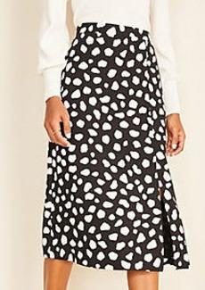 Ann Taylor Leopard Print Slip Skirt