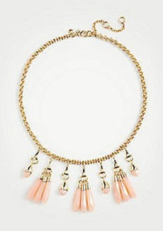 Ann Taylor Linear Stone Statement Necklace